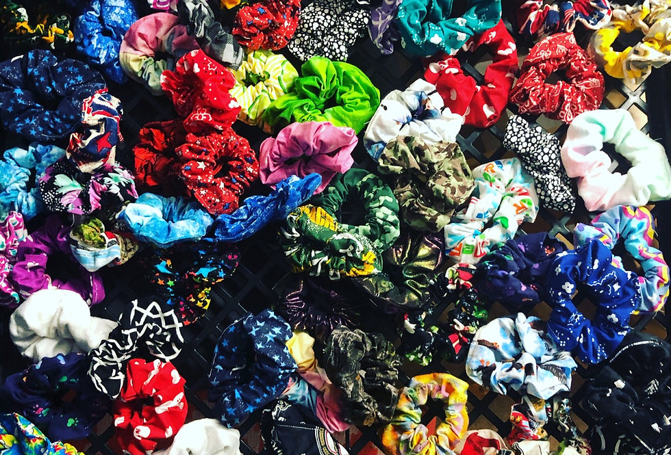 Assorted Scrunchies 3Pk