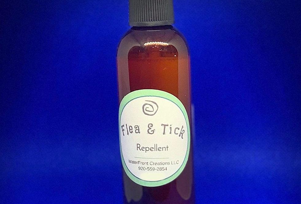 Essential Oil Flea and Tick Repellent