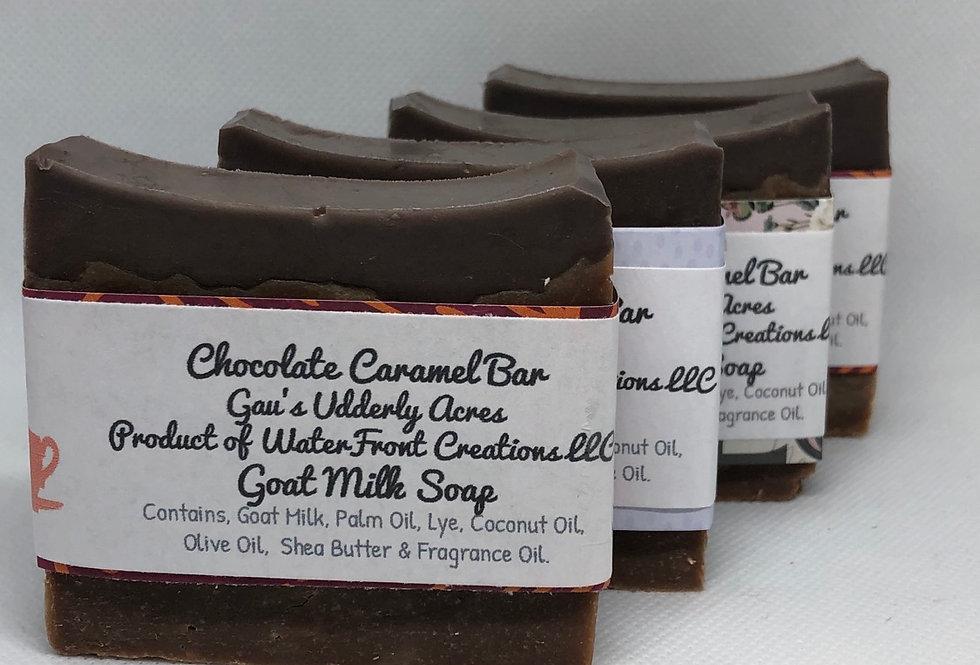 Chocolate Carmel Bar Goat Milk Soap