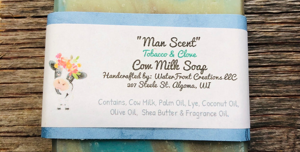 Tobacco and Clove Cow Milk Soap