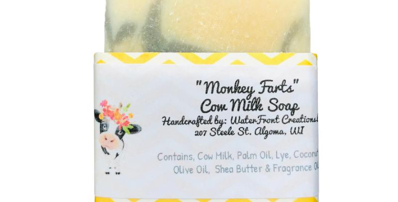 Monkey Farts Cow Milk Soap
