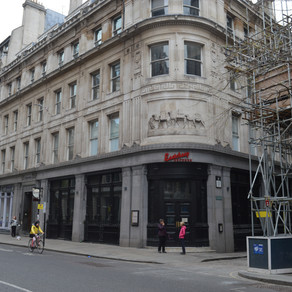 Eastcheap, the road to the pyramids