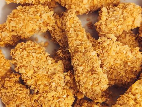 Nuggets de pollo al horno