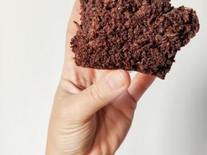 Bizcocho de cacao y calabacín