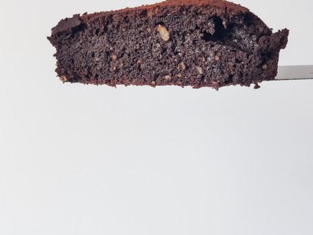 Tarta de chocolate y almendras sin azúcar