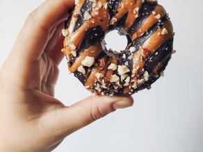 Donuts de batata y cacao