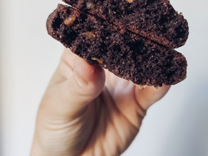 Galletas de brownie sin azúcar