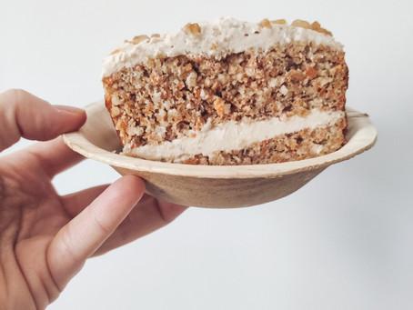 Carrot cake sin azúcar