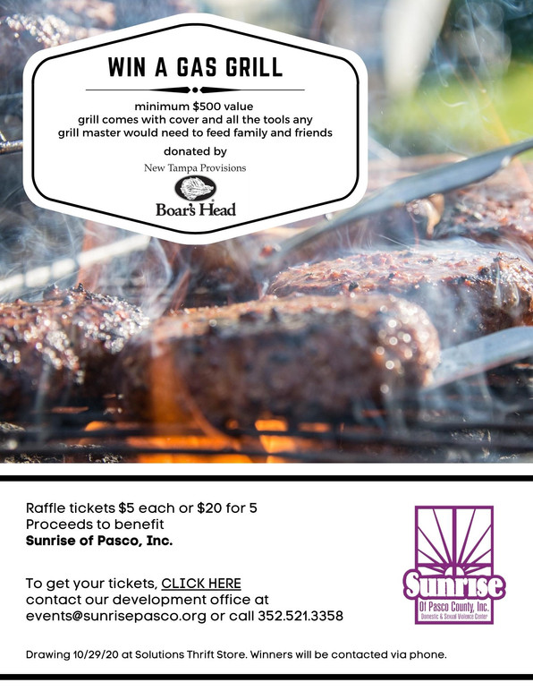 Enter Raffle, Win Awesome Grill