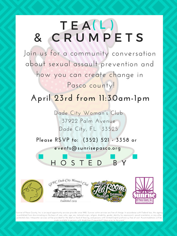 SAAM Hosts Tea(l) and Crumpets for the 3rd Year!