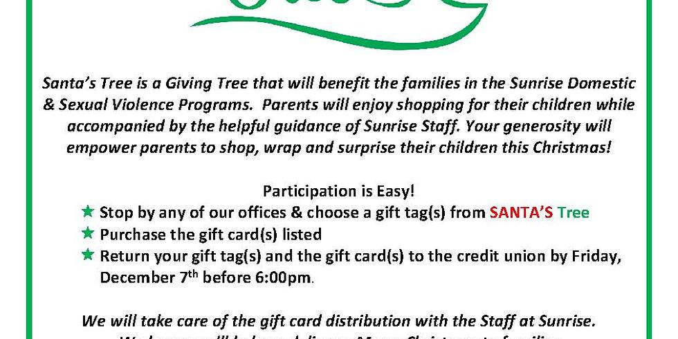 Santa's Giving Tree