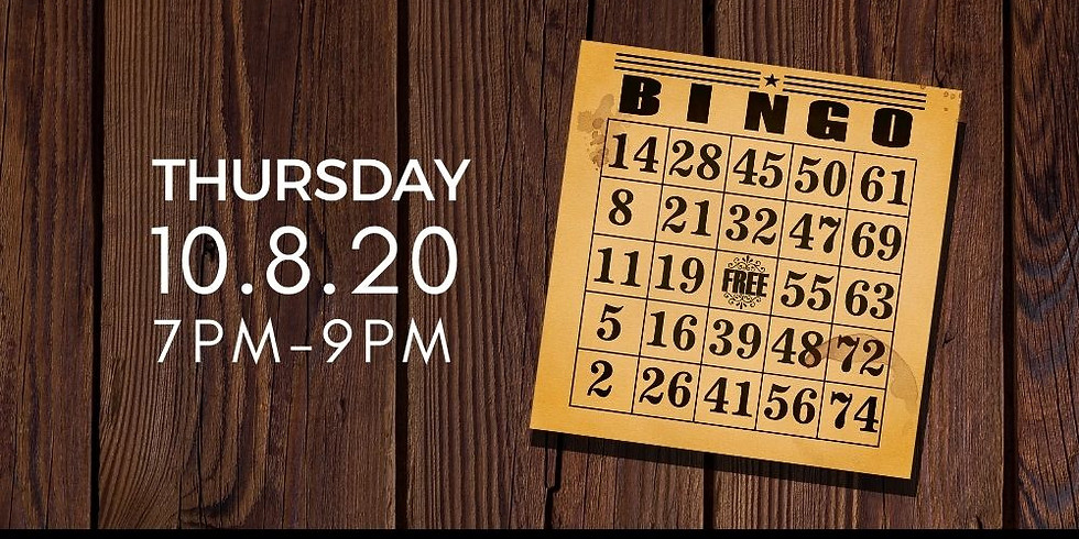 Brass Tap Bingo for DVAM THURSDAY, October 8, 2020 7pm Brass Tap Dade City