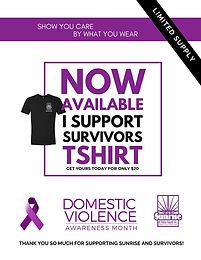 I Support Survivors Tee Shirt Sale