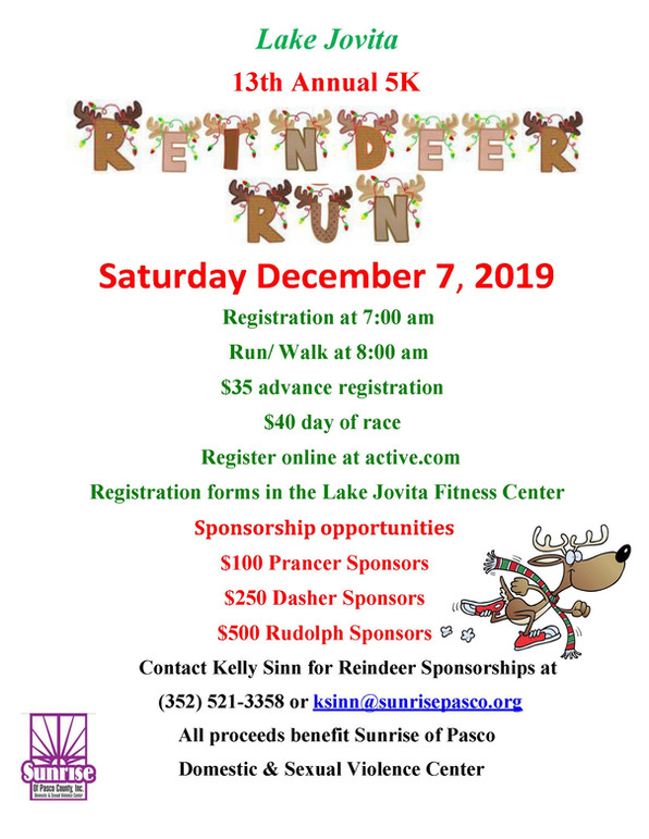 Join us for the Reindeer Run!
