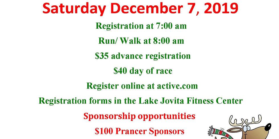 13th Annual Reindeer Run at Lake Jovita