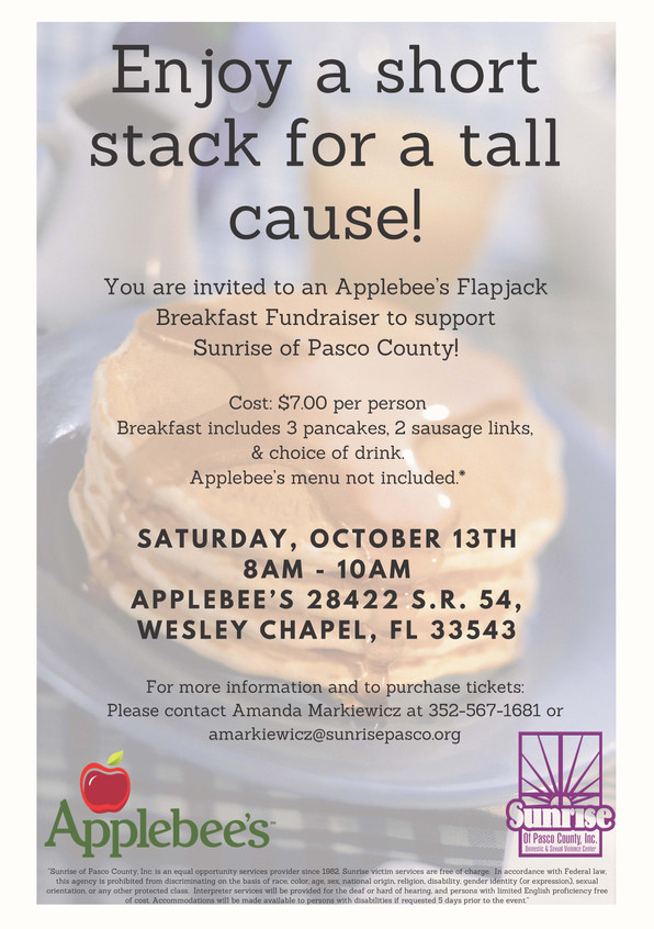 Enjoy a Short Stack for a Tall Cause!