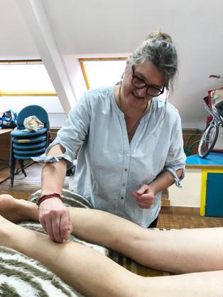 Soins d'acupuncture par Cathie