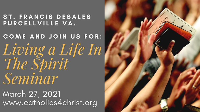 Living Life in the Spirit Seminar-Our Identity