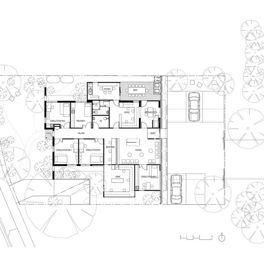 Surgeon s rooms-plan