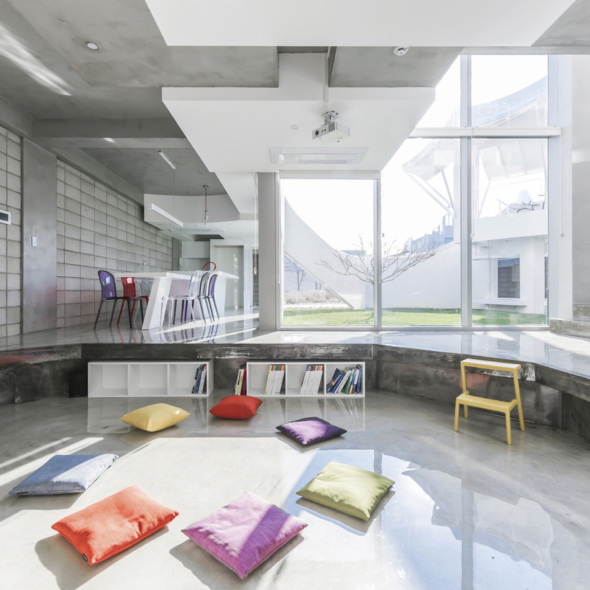Flying house interieur