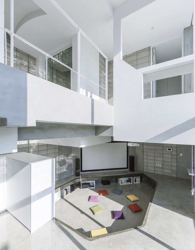 Flying house interieur bis