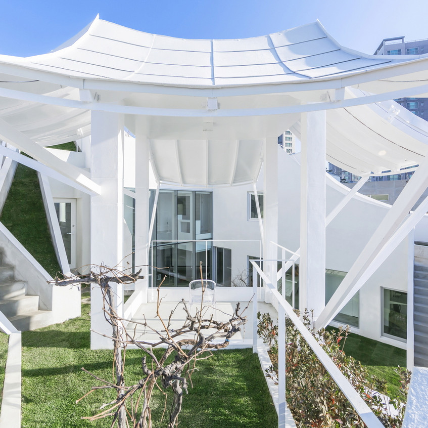 Flying house exterieur pavillon