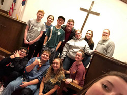 Youth Group 30 hour famine 2018