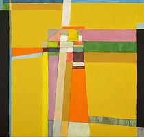 Peinture abstraite lumineuse