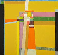 Brillante pintura abstracta