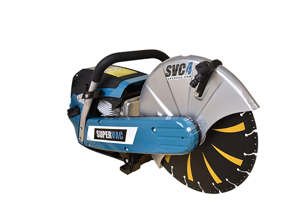 """SuperVac 14"""" Cut-Off Saw with Tiger Tooth Blade"""