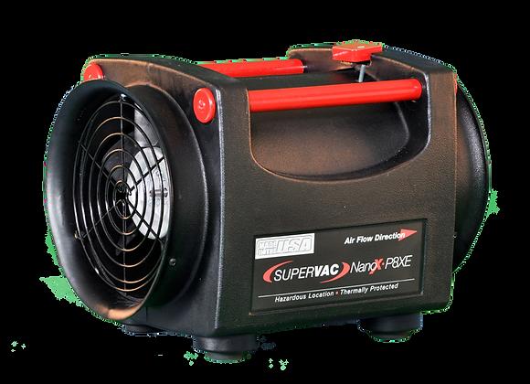 """SuperVac Nano Pac P8XE 8"""" Fan with 1/3 Hp 220 V Hazardous Location Motor"""