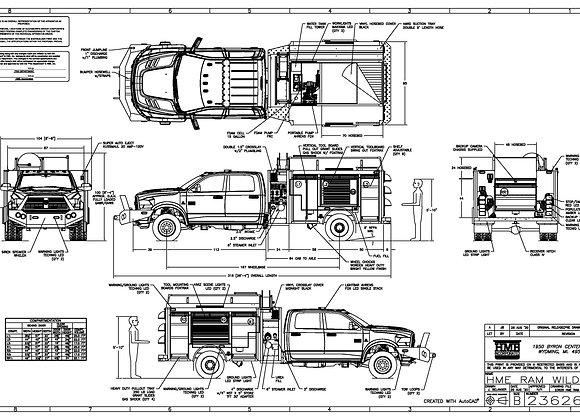 HME Ahrens-Fox / Ford F-622 WildMax 1500/500