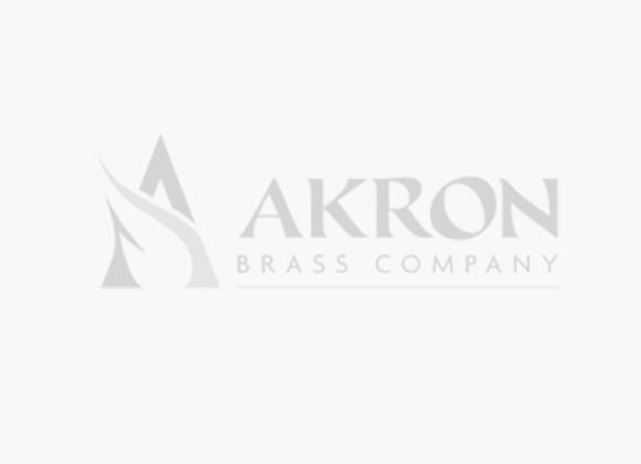Akron Style 2120 120 GPM Brass Industrial/Marine In-Line Foam Eductor