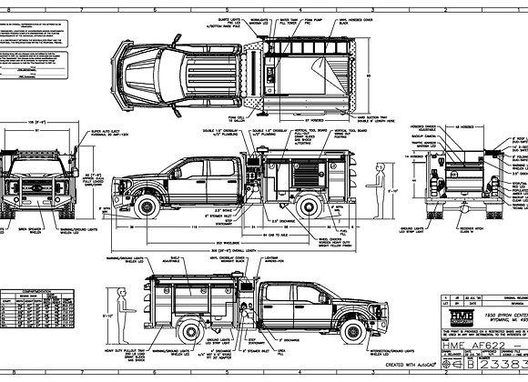HME Ahrens-Fox / Ford F-622 MiniEvo 1500/400