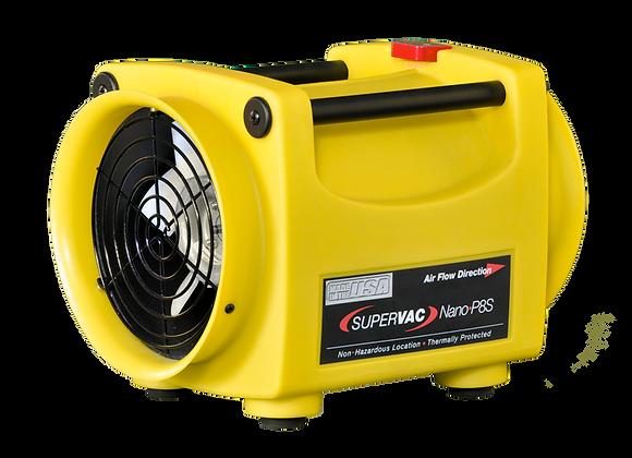 "SuperVac Nano Pac P8S 8"" Fan with 1/3 Hp Hazardous Location Motor"