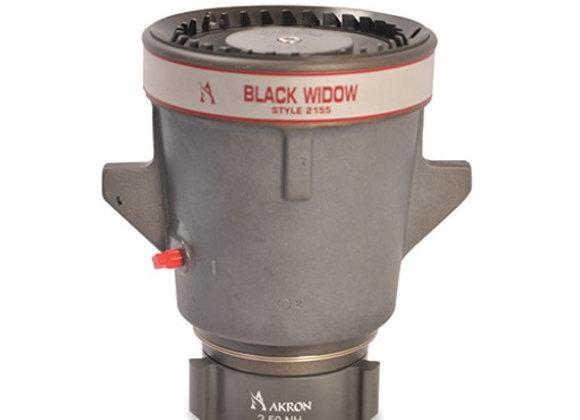 Akron Style 2155 Black Widow Hydraulic Master Stream Nozzle
