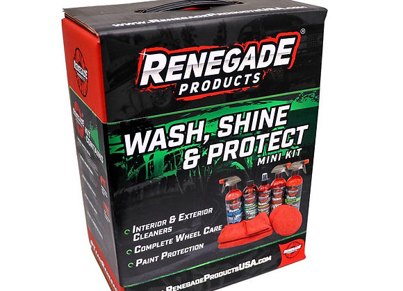 Renegade Products Wash, Shine, & Protect Mini Kit