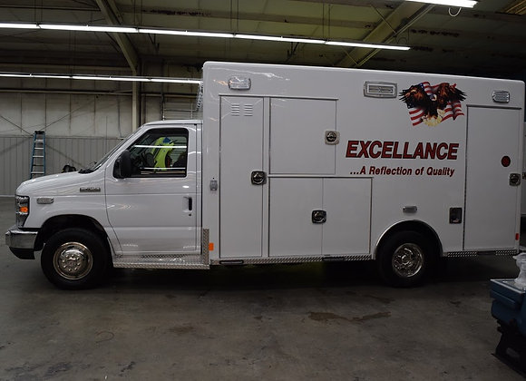 2019 Excellance Ford E450 Type IIIL Ambulance SO: 2644