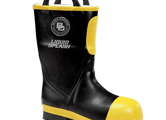 "Black Diamond - 11"" NFPA Rubber Boot, Lug Sole (Short)"