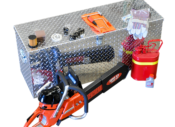 """SuperVac 20"""" Ventilation Saw Kit with Tread Plate Box"""