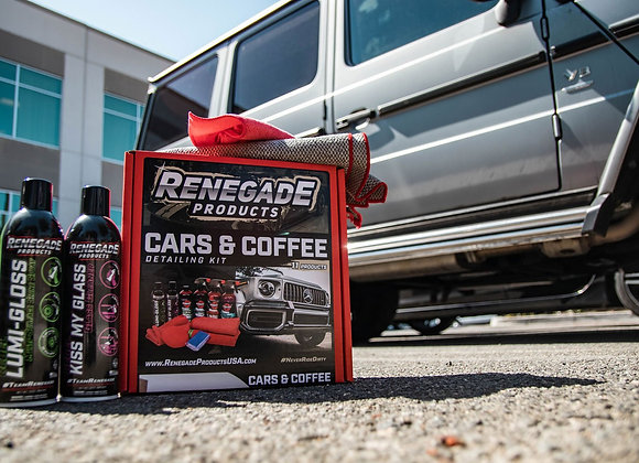 Renegade Products Cars & Coffee Detailing Kit