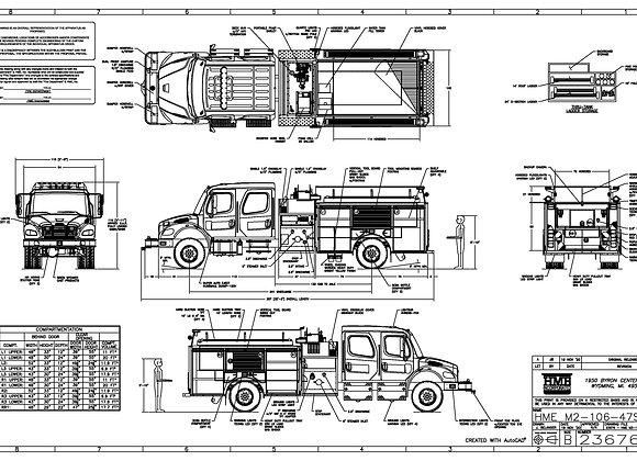 HME Ahrens-Fox / Freightliner M2Pumper 1500/1200
