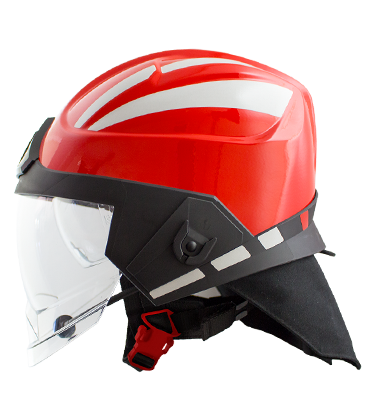 Pacific - F15 Jet Style Structural Firefighting Helmet - NFPA