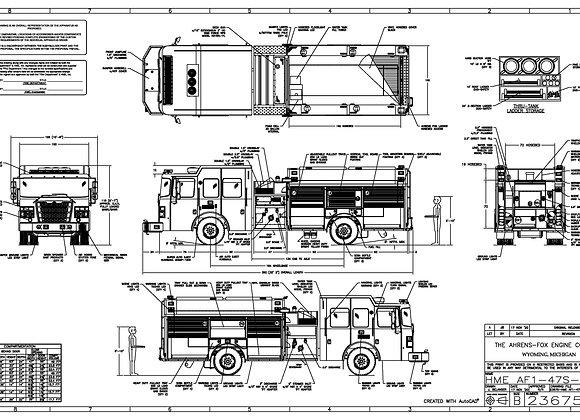 HME Ahrens-Fox AF1 Rescue Pumper 1500/1000