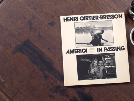 Empty Glass with HENRI CARTIER-BRESSON : America in Passing