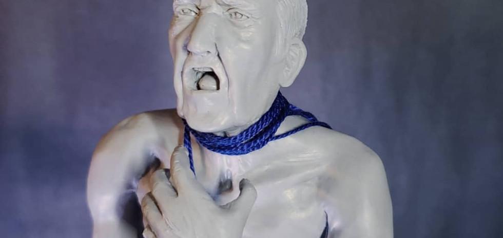 Old man view from Stone en Bleu