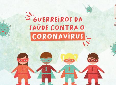Um livro infantil sobre o Coronavírus, desenvolvido em menos de 48 horas!