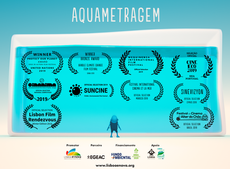 Uma curta metragem portuguesa sobre desperdício de água