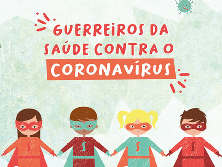 Plataforma infantil de combate à Covid-19!