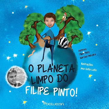 Livro: O Planeta Limpo do Filipe Pinto